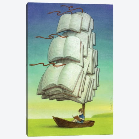 Journey Canvas Print #PWK11} by Pawel Kuczynski Canvas Art Print