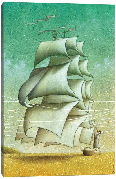 Sails Canvas Art Print