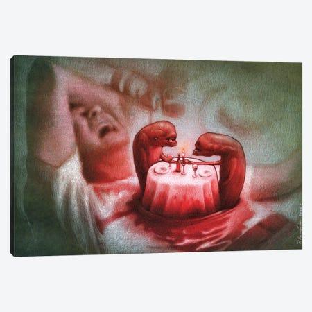 Alien Canvas Print #PWK28} by Pawel Kuczynski Canvas Artwork