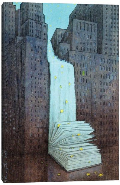 Dream Book Canvas Art Print