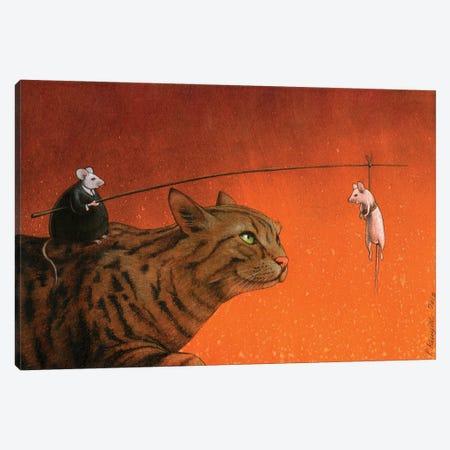 Fat Mouse Canvas Print #PWK31} by Pawel Kuczynski Art Print