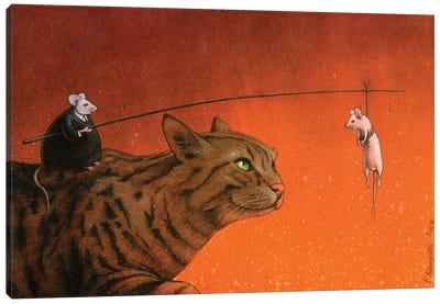 Fat Mouse Canvas Art Print