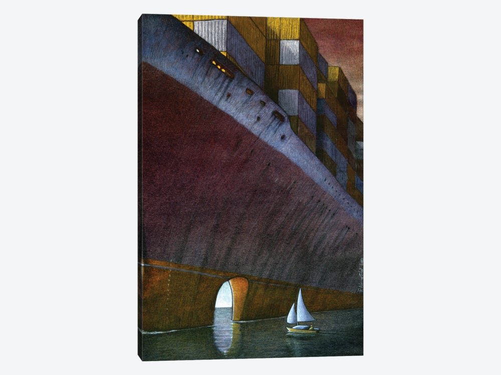 Freedom by Pawel Kuczynski 1-piece Canvas Artwork