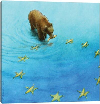 Eu Fishing Canvas Art Print
