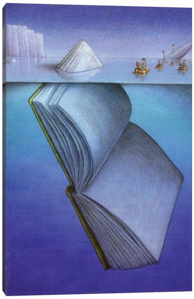 Ice Berg Canvas Art Print