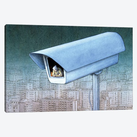 Monitor Canvas Print #PWK38} by Pawel Kuczynski Canvas Print