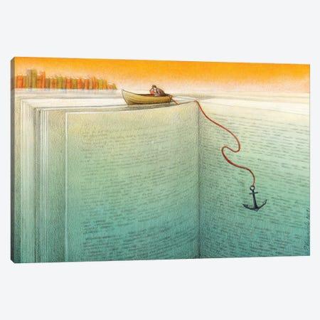 Reader Canvas Print #PWK41} by Pawel Kuczynski Canvas Art