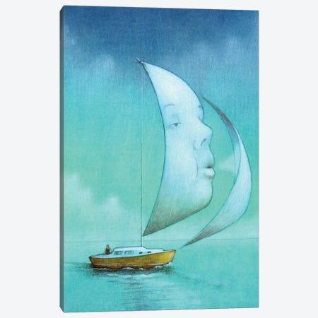 Boat Soul Canvas Print #PWK45} by Pawel Kuczynski Canvas Art Print