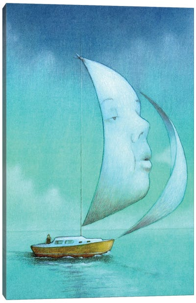 Boat Soul Canvas Art Print