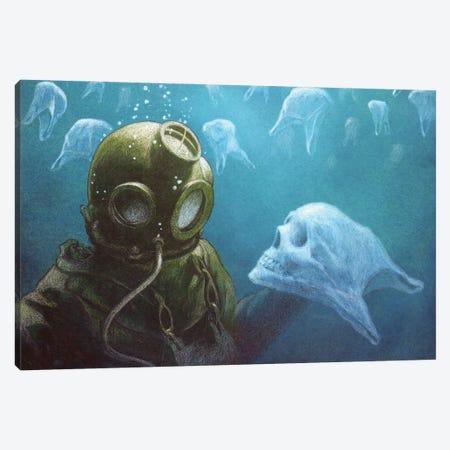To Be Or Not Canvas Print #PWK6} by Pawel Kuczynski Art Print