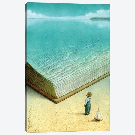 Ocean Canvas Print #PWK9} by Pawel Kuczynski Canvas Artwork