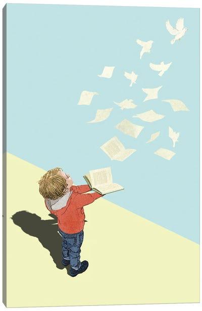 Wings of Imagination Canvas Art Print