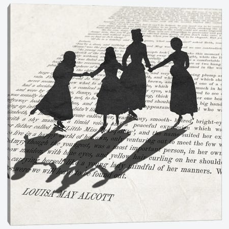 Little Women Canvas Print #PWR20} by Peter Walters Canvas Art Print