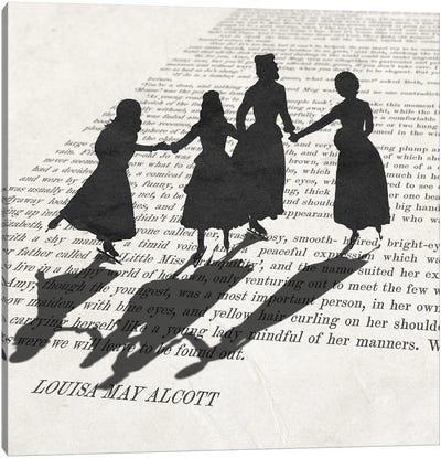 Little Women Canvas Art Print