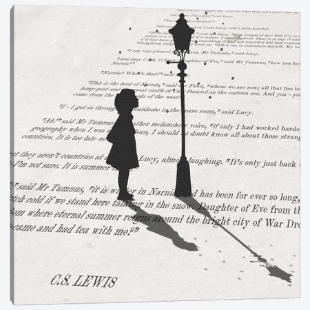 Lucy in Narnia Canvas Print #PWR21} by Peter Walters Canvas Art Print