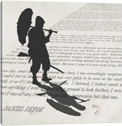Robinson Crusoe Canvas Art Print