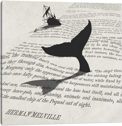 The Ship! The Hearse! Canvas Art Print
