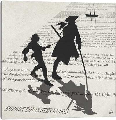 Treasure Island Canvas Art Print