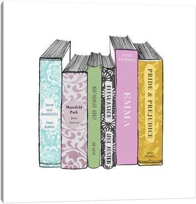 Austen - The Complete Works Canvas Art Print