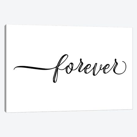 Forever Canvas Print #PXY191} by Pixy Paper Canvas Art