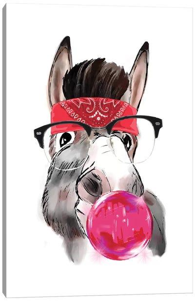 Gangstar Donkey Canvas Art Print