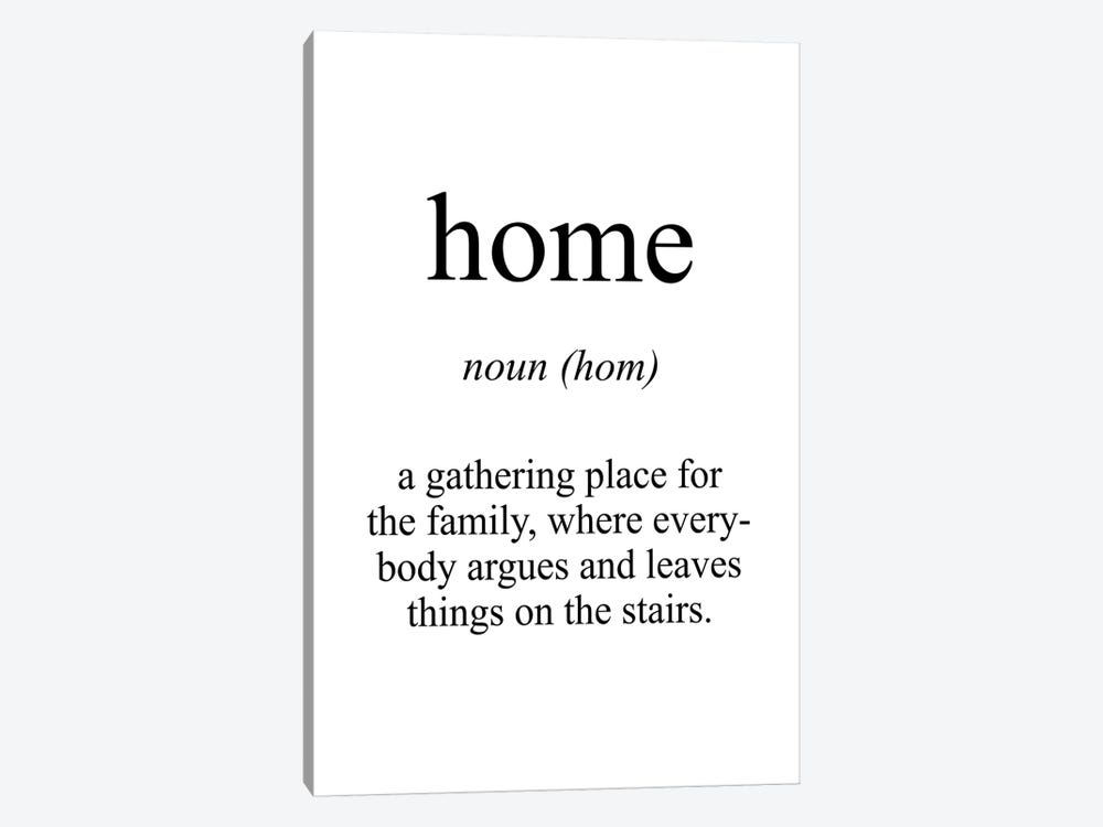 Home Meaning by Pixy Paper 1-piece Canvas Art