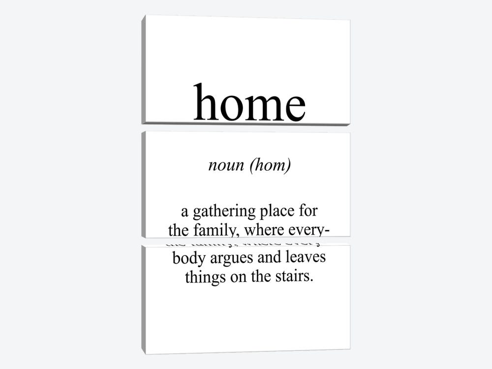 Home Meaning by Pixy Paper 3-piece Canvas Art