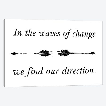 In The Waves Of Change Canvas Print #PXY258} by Pixy Paper Canvas Print