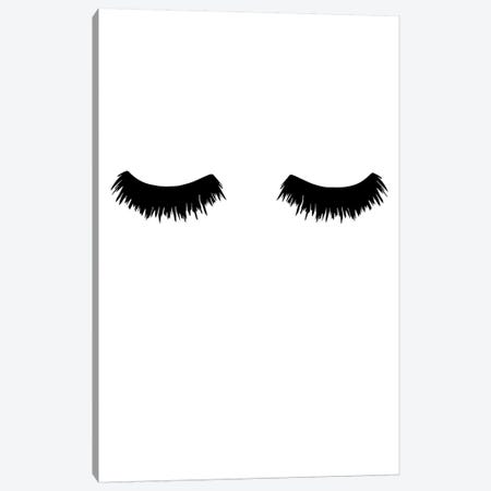 Lashes Bold Canvas Print #PXY275} by Pixy Paper Canvas Art