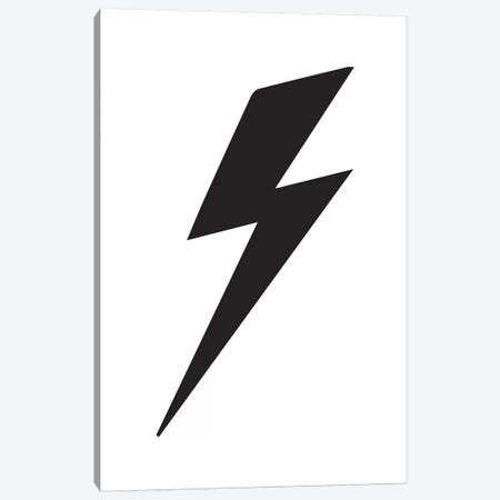 Lightning Bolt Canvas Print #PXY294} by Pixy Paper Canvas Art