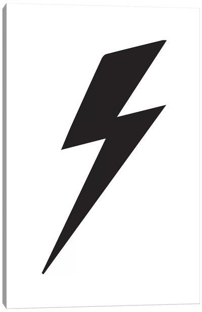 Lightning Bolt Canvas Art Print