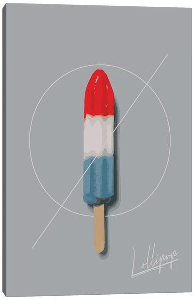 Lollipop Summer Canvas Art Print