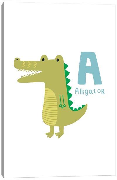Animal Alphabet - A Canvas Art Print