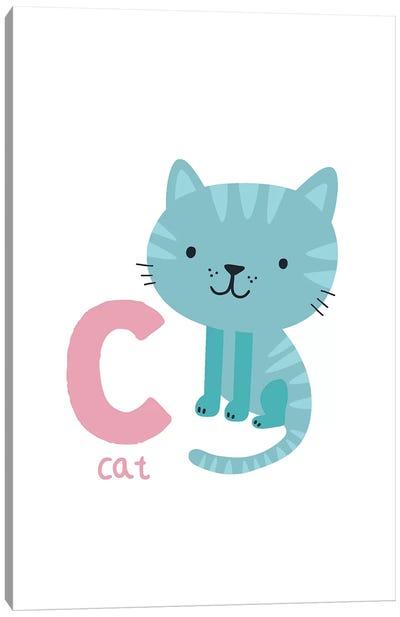 Animal Alphabet - C Canvas Art Print