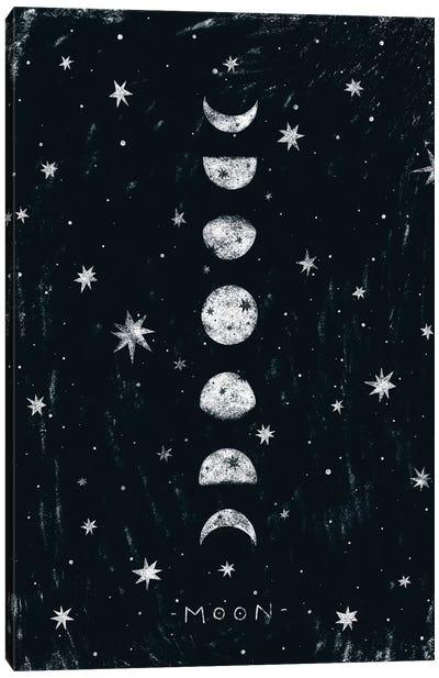Moon Phases Canvas Art Print