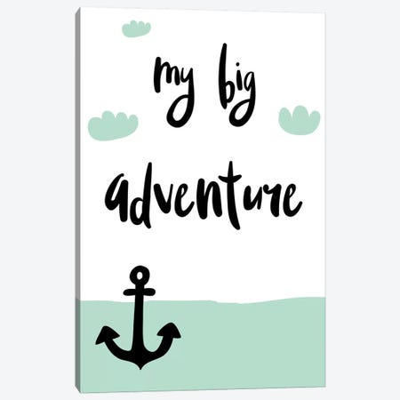 My Big Adventure 3-Piece Canvas #PXY354} by Pixy Paper Art Print