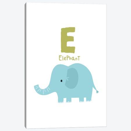 Animal Alphabet - E 3-Piece Canvas #PXY35} by Pixy Paper Canvas Art