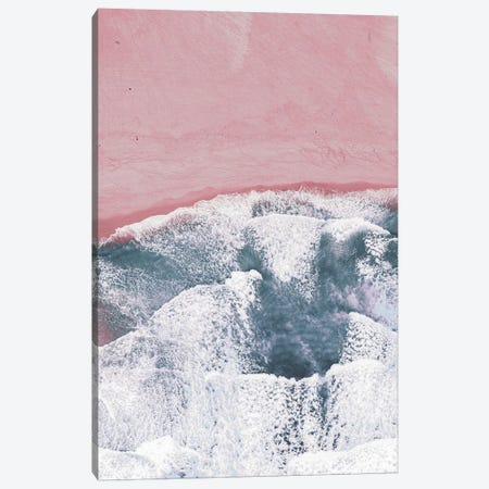 Pink Sand Canvas Print #PXY401} by Pixy Paper Canvas Art