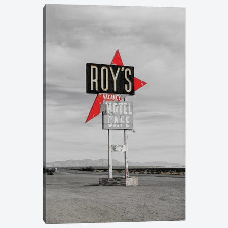 Roys Motel Canvas Print #PXY424} by Pixy Paper Canvas Art Print