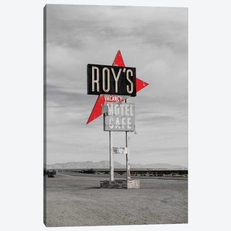 Roys Motel Canvas Print #PXY424} by Pixy Paper Canvas Art Print