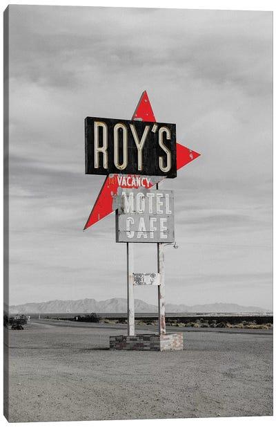 Roys Motel Canvas Art Print