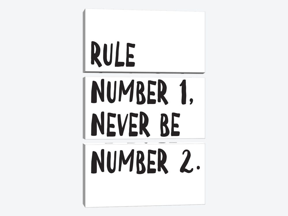 Rule Number by Pixy Paper 3-piece Canvas Wall Art