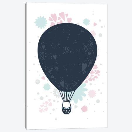 Super Unicorn Designs - Hot Air Balloon Canvas Print #PXY462} by Pixy Paper Canvas Art
