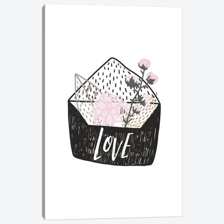 Super Unicorn Designs - Love Letter Canvas Print #PXY464} by Pixy Paper Art Print