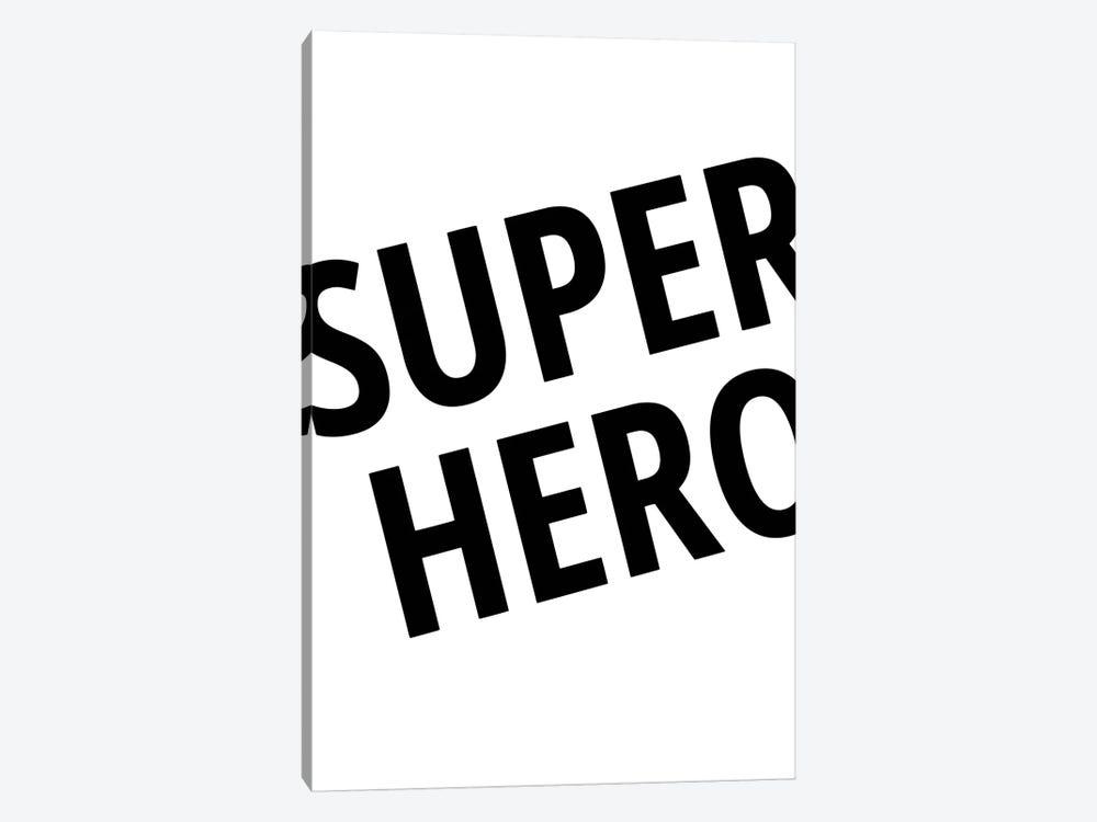 Superhero by Pixy Paper 1-piece Canvas Wall Art