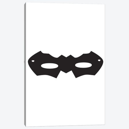 Superhero Mask Canvas Print #PXY468} by Pixy Paper Canvas Artwork