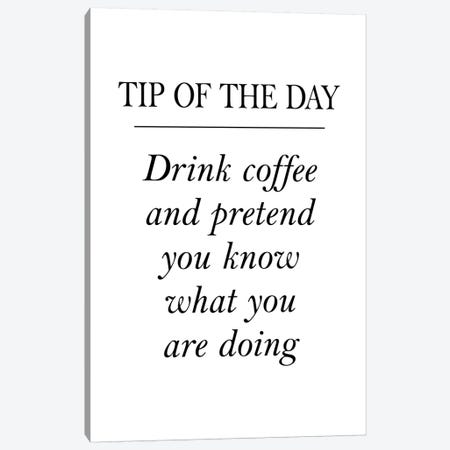 Tip Of The Day Canvas Print #PXY489} by Pixy Paper Canvas Artwork
