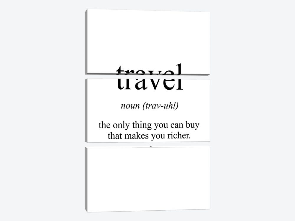 Travel Meaning by Pixy Paper 3-piece Canvas Art