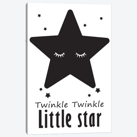 Twinkle Little Star Canvas Print #PXY496} by Pixy Paper Canvas Artwork