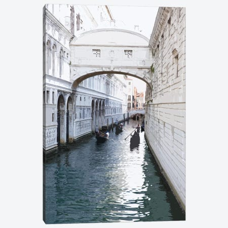 Venice Blue Canvas Print #PXY498} by Pixy Paper Canvas Art Print